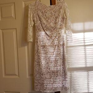 Calf length dress worn once